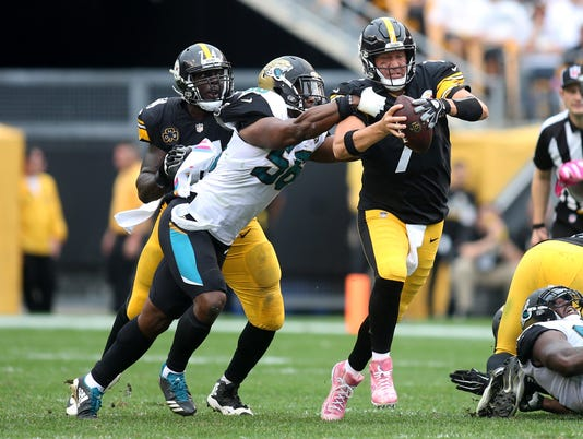 NFL: Jacksonville Jaguars at Pittsburgh Steelers