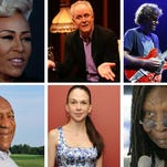 Clockwise from top left, Emeli Sande, John Lithgow, Jack Johnson, Whoopi Goldberg, Sutton Foster and Bill Cosby made The Star's list of the 20 most interesting visitors for fall.