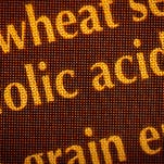 Pictured is Wonder white bread, a product containing enriched wheat flour fortified with folic acid.