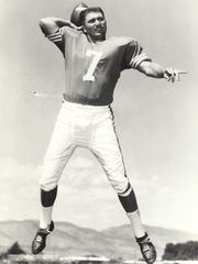 Mickey Slaughter during his playing days at Louisiana