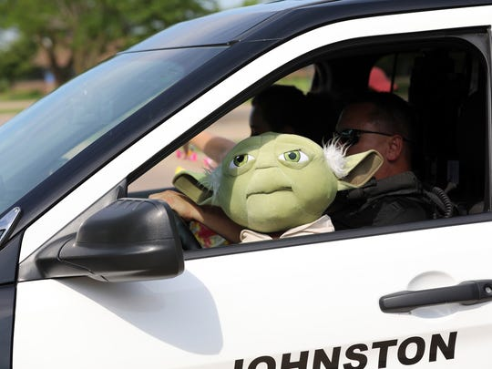 May the Johnston Police force be with you as Officer