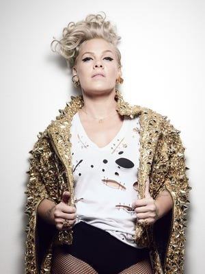 Pink is coming to the KFC Yum Center March 27, 2018.