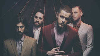 Imagine Dragons will perform June 22 at Ruoff Home Mortgage Music Center.
