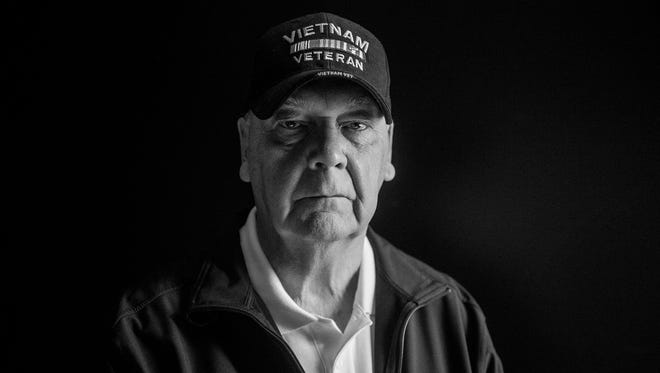 Harold Redding, 68, of Spring Grove, poses for a portrait on May 4, 2016 in Hanover. Redding served in Vietnam and is pushing lawmakers to make March 29 a National Vietnam Veterans Day.