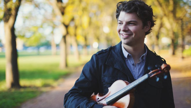 Shane Cook will perform with the International Symphony Orchestra.