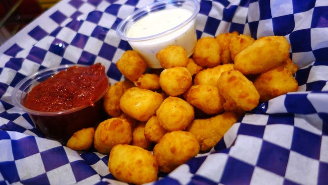 Wisconsin bar food at its squeakiest. Cheese curds are lightly breaded and deep-fried at Casey Jones Grill.