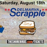 Shorebirds to change name to 'Delmarva Scrapple' in August
