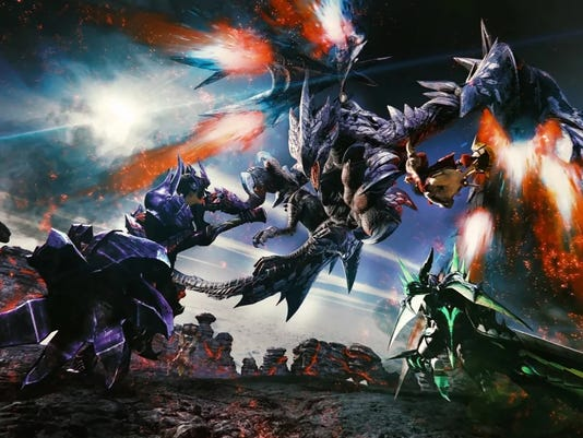 Monster Hunter Generations Ultimate, Nintendo Switch.
