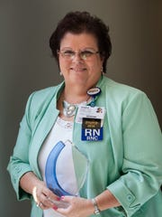 Inspira Health Network recognized Mary Ann Copeland,