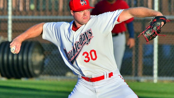 Central grad Aaron Barrett is on the mend with the Auburn Doubledays.