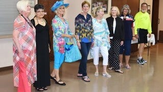 2018 Mesquite-Toes annual fashion show and champagne luncheon