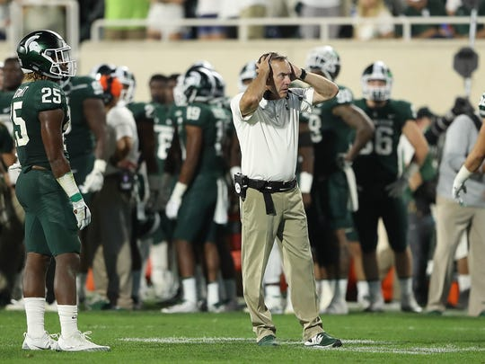 Mark Dantonio's close relationship with Luke Fickell was thought to be a bonus for the Spartans as they tried to land the Cincinnati coach.