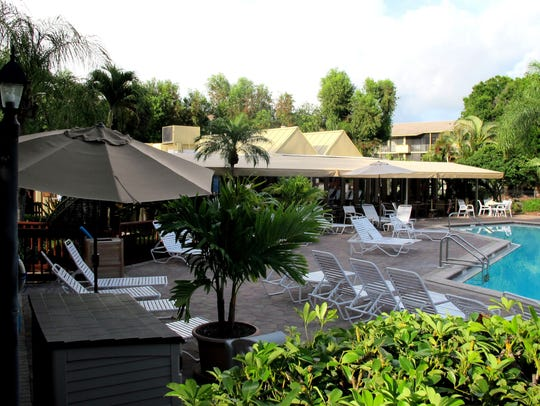 Pate's Island Club restaurant opened in March 2016