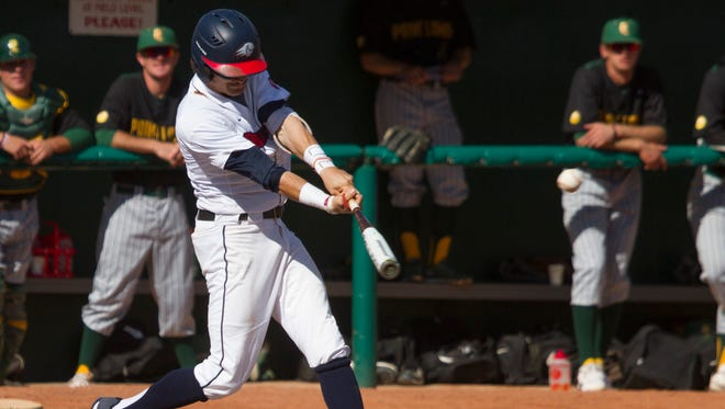 No. 10 Dixie State fell 8-6 to No. 14 UC San Diego Monday afternoon in the West Region championship game and ended its quest of reaching the College World Series.