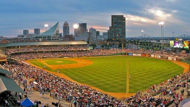 Louisville Slugger Field, home of the International League's Louisville Bats.