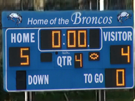 Bronxville extended its winning streak against Mamaroneck to eight games.
