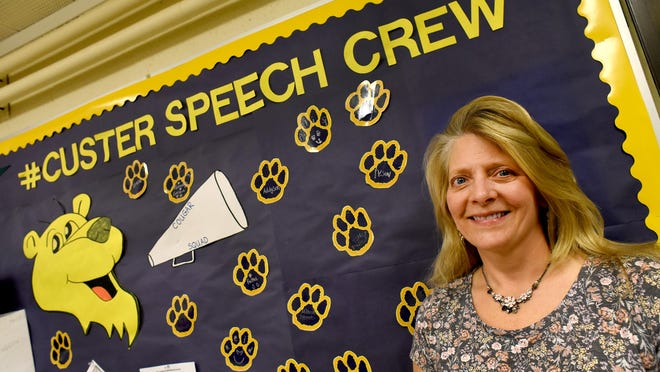 Custer Elementary School speech therapist Teresa Deindoerfer is retiring from Monroe Public Schools after 27 years with the district and 30 in education.