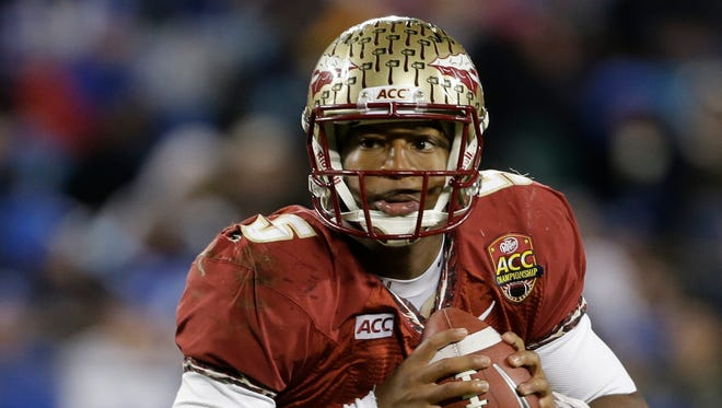 Florida State's Jameis Winston (5) has impressed scouts with his arm.