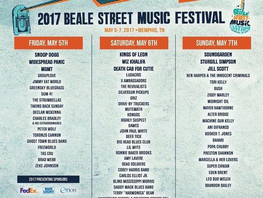 Music Fest Lineup 2017
