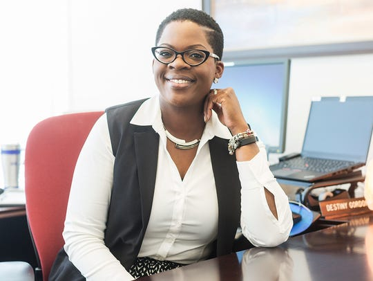 Destiny Gordon, manager of outreach services at BlueCross.