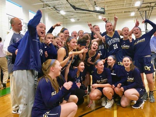 NV/Old Tappan girls basketball championship