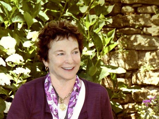 Author Frances Mayes.