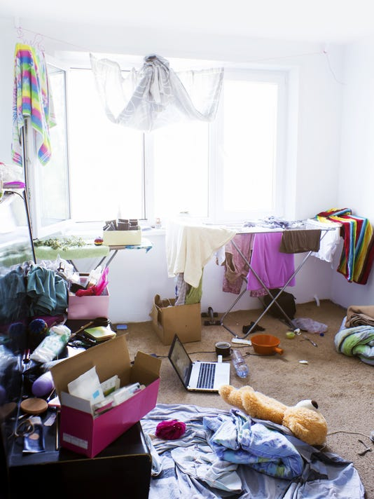 Carolyn Hax: Force kids to clean messy room? Or let it be?