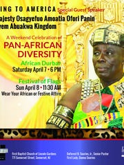 Take in a weekend of Pan-African diversity on Saturday,