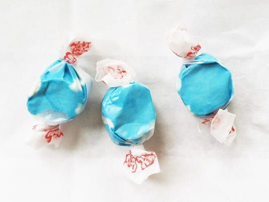 Blueberry Taffy ($4.95, pound) from Nan's Nummies.