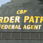 A Border Patrol agent rescued two people who attempted to swim across the All-American Canal on Tuesday, Border Patrol said.