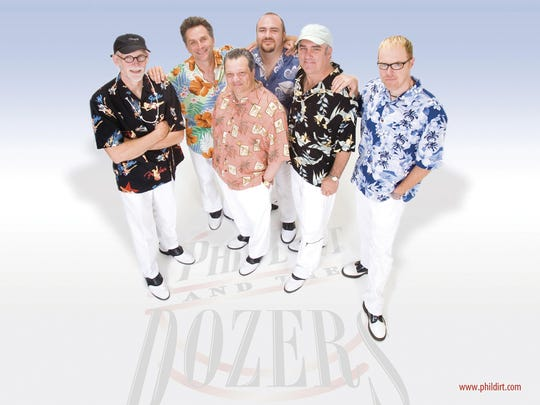 Phil Dirt and the Dozers will once again headline Madison Township Lions Club's annual Beach Party.