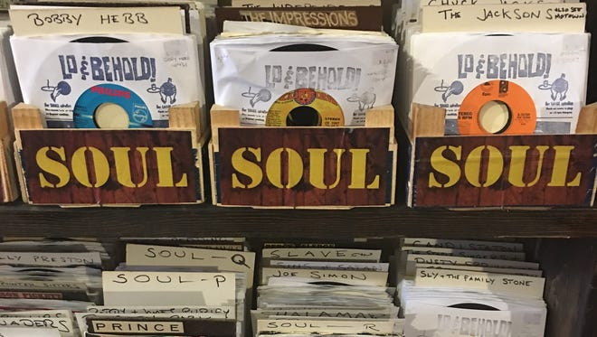 45s of all stripes are available at Lo & Behold! Records & Books in Hamtramck.