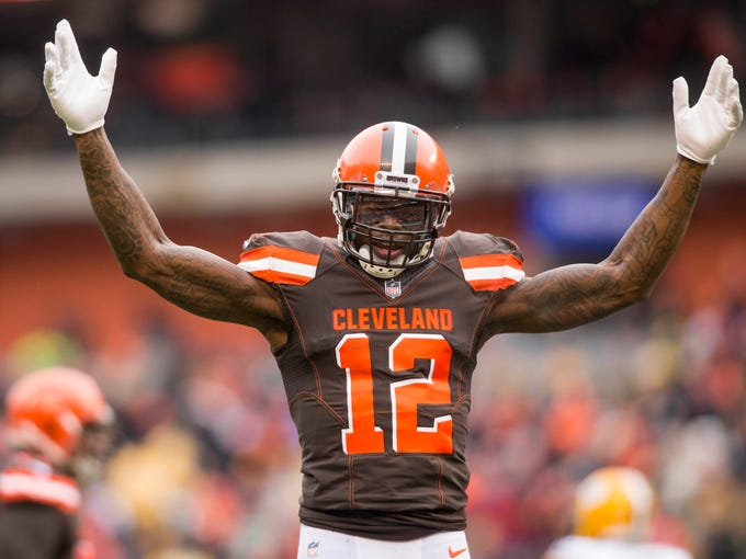 32. Browns (32): Josh Gordon's been back two weeks,