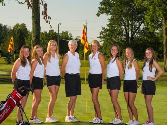 The Milford girls golf team will look to Abby Swensen to lead this year.
