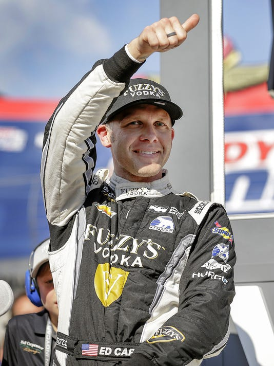 Ed Carpenter wins the 2018 Indy 500 pole
