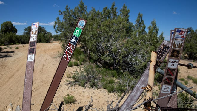 Trail improvements funded by a federal grant could be coming soon to the Glade Run Recreation Area.