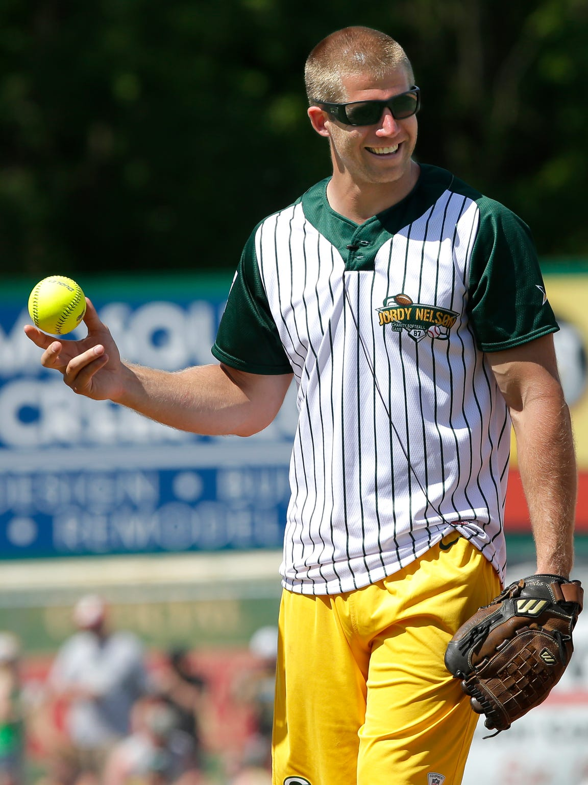 The Jordy Nelson Charity Softball Game will pack Fox