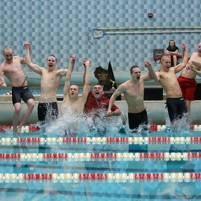 WIAA Division 1 Boys State Swim Meet