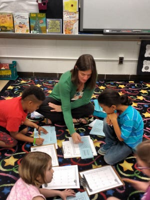 At Dunn Elementary, kids who are struggling get extra time with second-grade teacher Sarah Bowling.