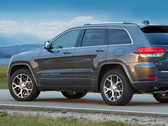 The 2018 Jeep Grand Cherokee Sterling Edition.