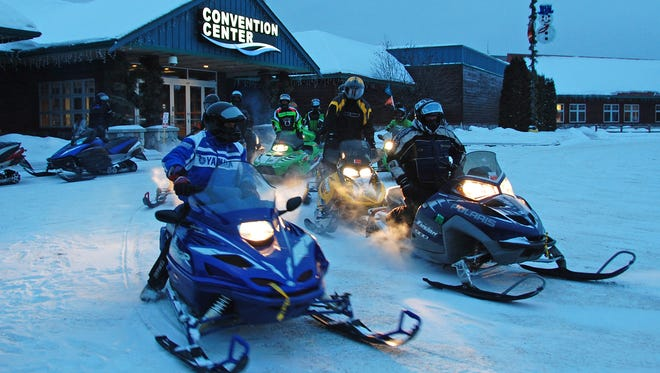 The 31st annual MS Snowmobile Tour, held January 23-25, 2014, was based out of Lake of the Torches Resort Casino in Lac du Flambeau.