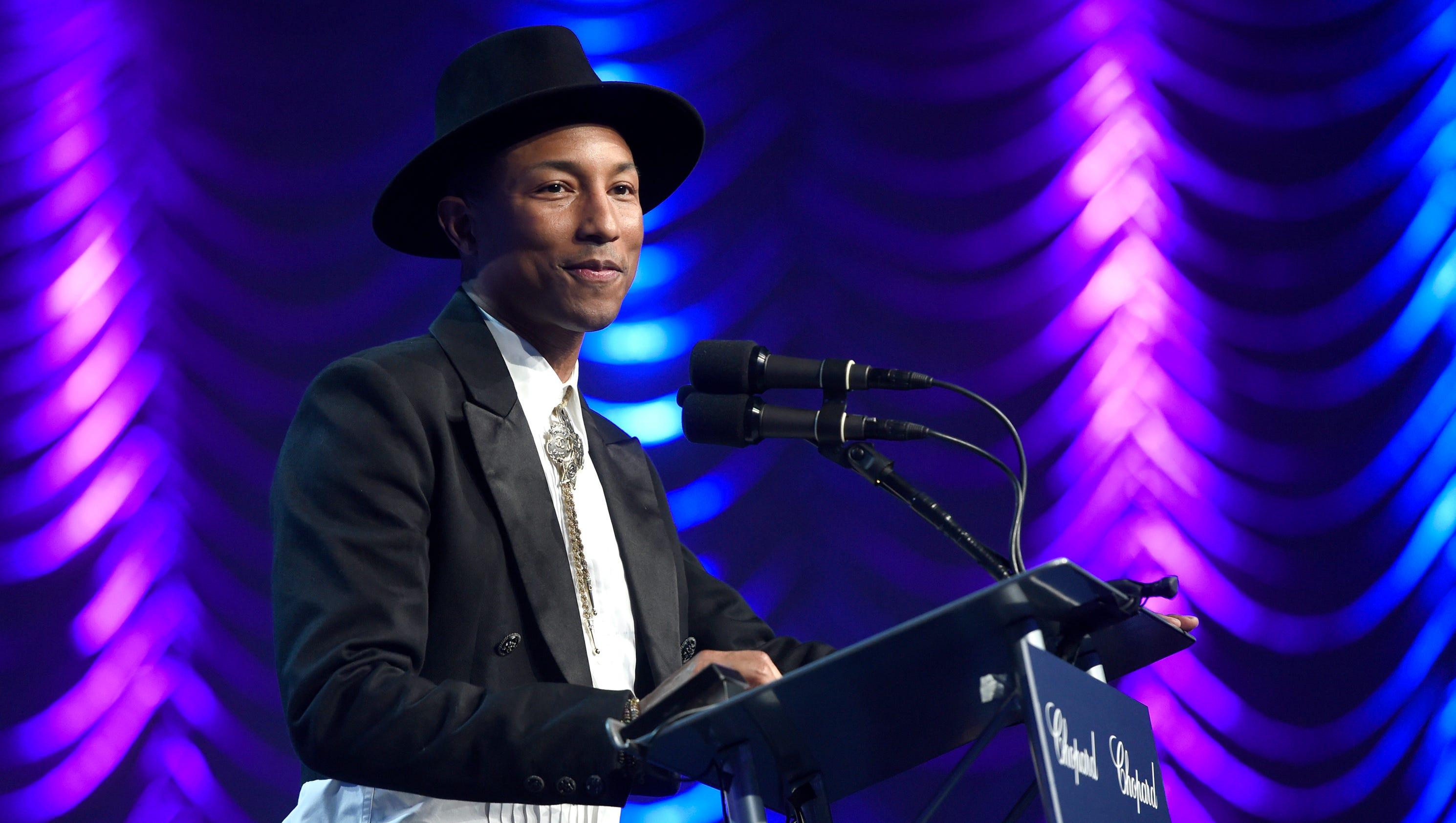 Pharrell ellen address kim burrell 39 s anti gay statements - Ellen show address ...