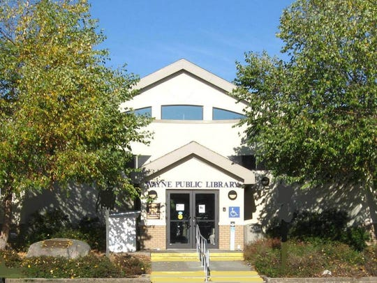The main branch of the Wayne Public Library.