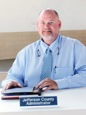 Jerry Coalson has been hired by Jefferson County as its new county administrator. He started working for the county Monday, Aug. 31.