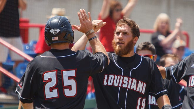 The UL Ragin' Cajuns did a lot of celebrating at the recent Sun Belt Conference Championships in Mobile, Ala.