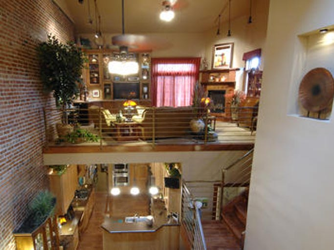 The Larry and Barb Rehfeld loft is a new addition on the Downtown Loft Tour.