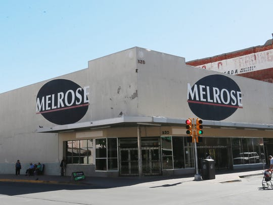 The old Melrose building is empty now.