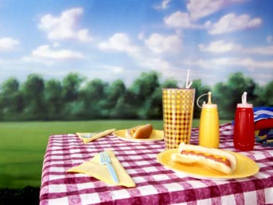 A traditional picnic