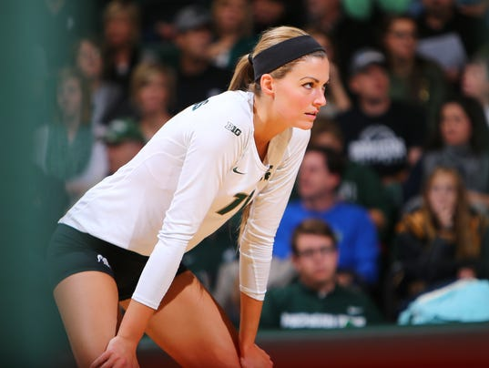 MSUVB_11_9_14 Wisconsin v. Michigan State Spartans