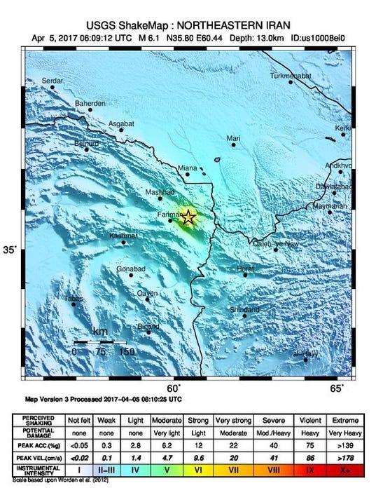 EPA IRAN EARTHQUAKE DIS EARTHQUAKE IRA